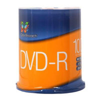 COLOR RESEARCH 100 Pack DVD-R Blank Media - 16X Speed, 4.7 GB - C18-42002