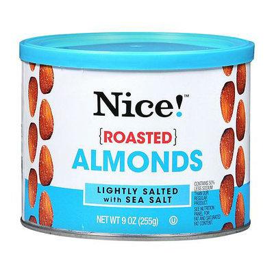 Nice! Roasted Almonds Lightly Salted with Sea Salt