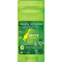 Terra Firma Naturals Deodorant Stick Unscented (Aluminum Free) 60 Grams