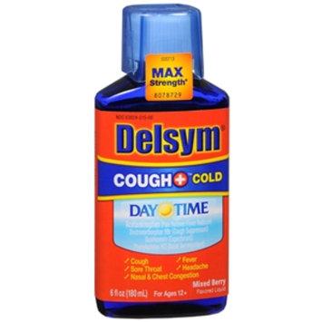 Delsym Adult Liquid Cough + Cold Daytime, , Berry, 6 fl oz