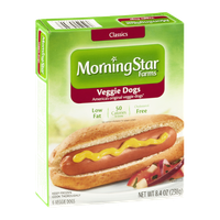 MorningStar Farms Veggie Dogs - 6 CT