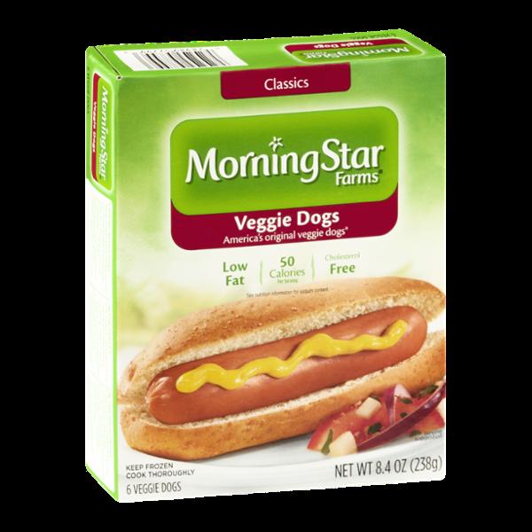 Morningstar Farms Veggie Dogs 6 Ct Reviews