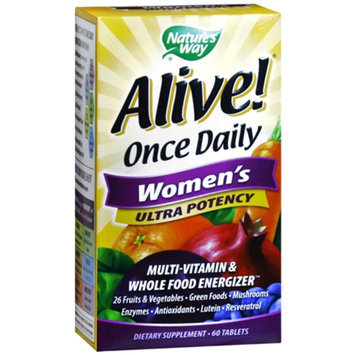 Nature's Way Alive! Once Daily Women's Ultra Potency Multivitamin