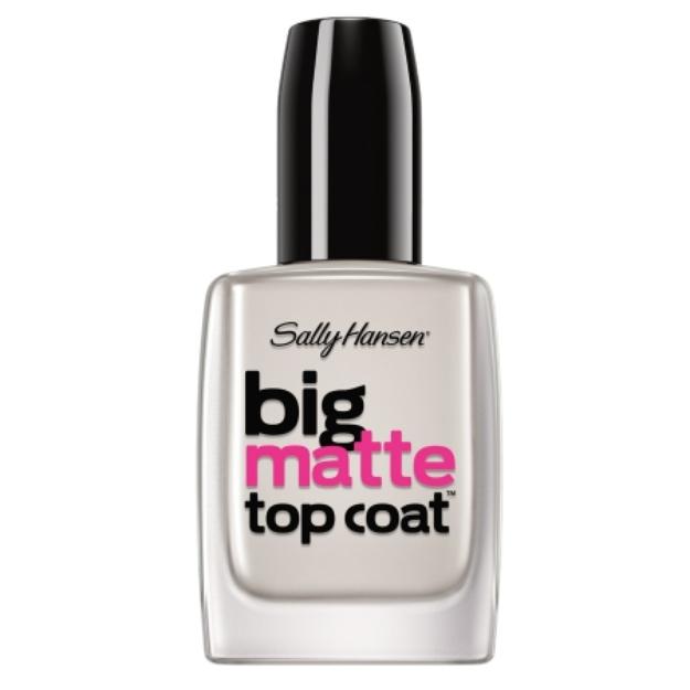 Sally Hansen Big Matte Top Coat Nail Treatment