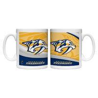 Boelter Brands NHL 2 Pack Nashville Predators Wave Style Mug -