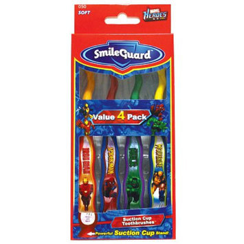 Firefly Kids! Marvel Heroes Suction Cup Toothbrushes