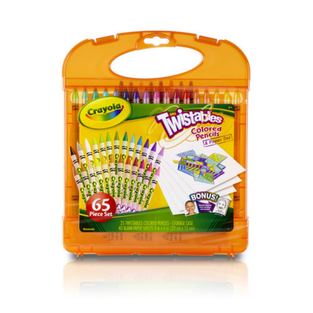 Crayola Twistables Colored Pencils Kit