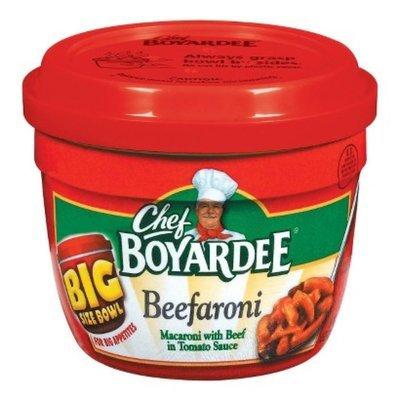 Chef BOYARDEE Chef Boyardee Beefaroni Big Size Bowl 14.25 oz