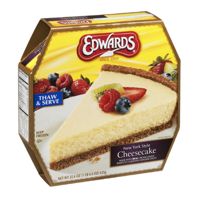 Edwards New York Style Cheesecake