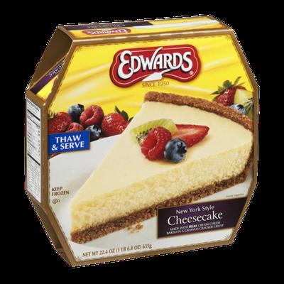 Edwards New York Style Cheesecake