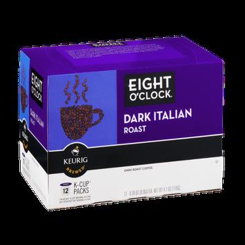 Eight O'Clock Dark Roast Italian K-Cup Packs - 12 CT