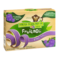 Stretch Island Fruit Co. Fruitabu Grape Rolls