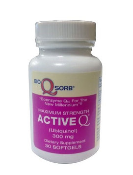 Tishcon Corp Active Q Ubiquinol CoQ10 300mg 30ct.