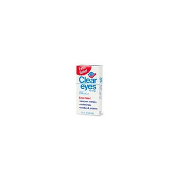Clear Eyes Clear Contact Lens Relief Eye Drops 1 Fl Oz (30 Ml)