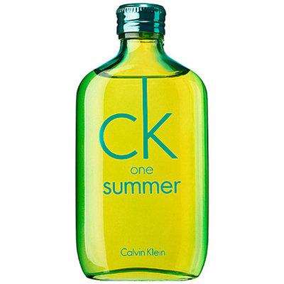 Calvin Klein CK One Summer 3.4 oz Eau de Toilette Spray