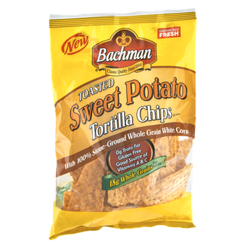 Bachman Toasted Sweet Potato Tortilla Chips