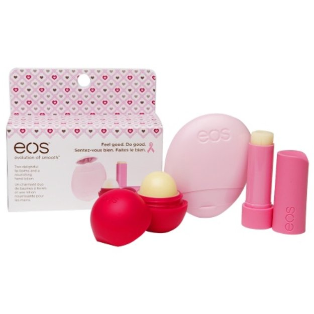 eos 2014 Breast Cancer Awareness 3-Pack Assorted