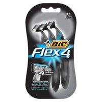 4-pk. BIC Flex 4 Men's Shaver