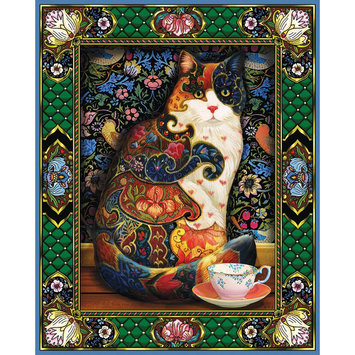 White Mountain Puzzles Tropical Cat - 1 ct.