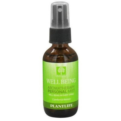 Plantlife Aromatherapy Personal Mist 2Oz - Well-Being