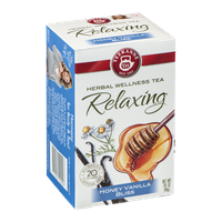 Teekanne Herbal Wellness Tea Relaxing Honey Vanilla Bliss