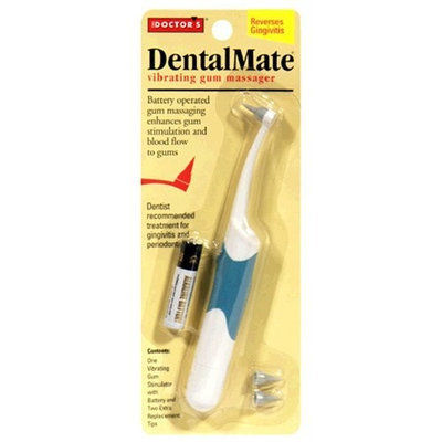 Dental Concepts The Doctor's DentalMate Vibrating Gum Massager, 1 Massager (Color May Vary)