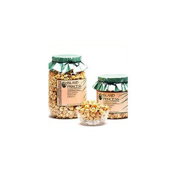 Island Princess Macadamia Popcorn Crunch Jars Hawaii's Finest Since 1986