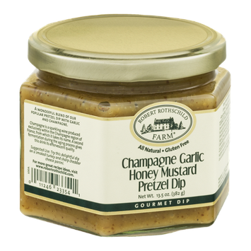 Robert Rothschild Farm Champagne Garlic Honey Mustard Pretzel Dip