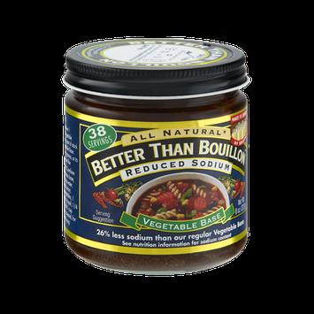 Better Than Bouillon All Natural Reduced Sodium Vegetable Base