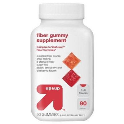 up & up Fruit-Flavored Fiber Gummy Supplements 90-ct.