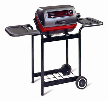 Meco Corporation Meco Electric Cart Grill - Black/Red