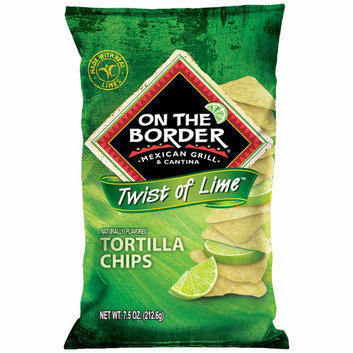 On The Border Mexican Grill & Cantina On The Border Twist of Lime Cafe Style Tortilla Chips