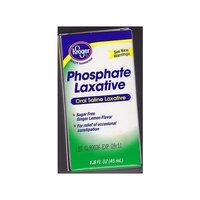 Kroger Phosphate Laxative Oral Saline Laxative 45mL *Compare to Fleet Phospho Soda*
