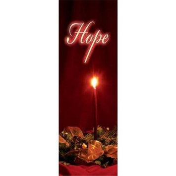 Vcp International Vcp Wholesale 27589 Banner C Advent Candles Hope Indoor