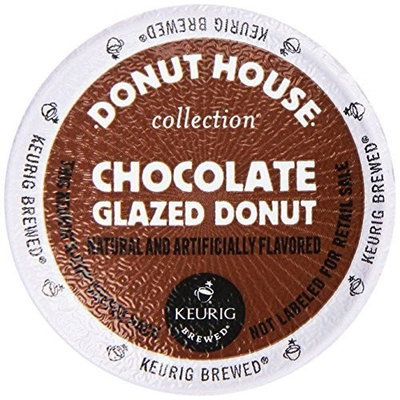 Donut House Collection Coffee, Chocolate Glazed Donut, K-Cup Portion Count for Keurig K-Cup Brewers, 24-Count