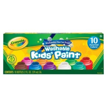 Crayola 10ct Washable Paint