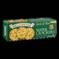 Wellington Water Crackers Garlic & Herb