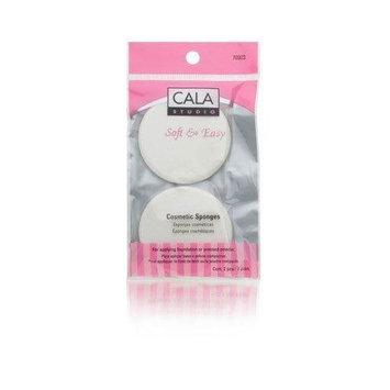 Cala Studio Soft & Easy Cosmetic Sponges ( Round ) Model No. 70923 - 2 Pieces