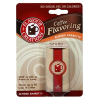 Flavour Creations Coffee Flavoring Tablets, Almond Amaretto, 48-Count Dispensers (Pack of 6)