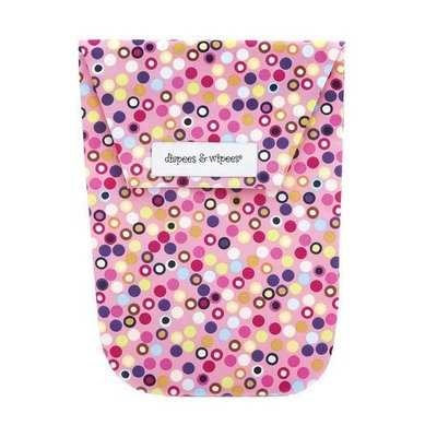 Diapees And Wipees diapees & wipees Diaper Pouch - Hot Dot