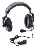 RITRON RHD-4X Headset, Over the Head, Over Ear, Black