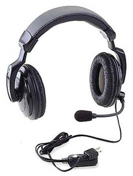 RITRON RHD-4X Headset, Over the Head, Over Ear, Black