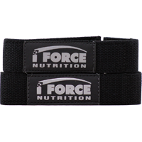 Iforce Nutrition 2650097 Padded Lifting Straps
