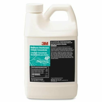 3M 4P Bathroom Disinfectant Cleaner Concentrate 1Gal Clear