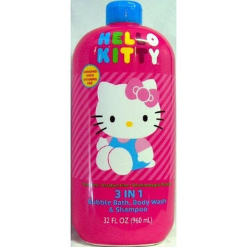 HELLO KITTY Bubble Bath, Body Wash & Shampoo