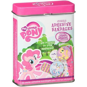 Sterile Adhesive Bandages, 20 count - My Little Pony