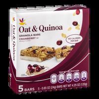 Ahold Oat & Quinoa Granola Bars Cranberry - 5 CT