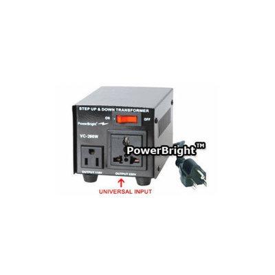 Power Bright 200W Step Up / Down Voltage Transformer