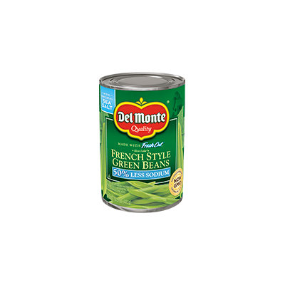 Del Monte® French Style Green Beans - Low Sodium