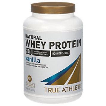 True Athlete Natural Whey Protein - Vanilla - 2.5 Pound Powder - Whey Protein / Isolate